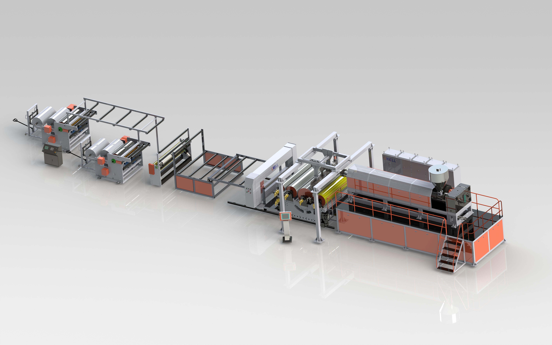 EVA太陽能膠膜生產線