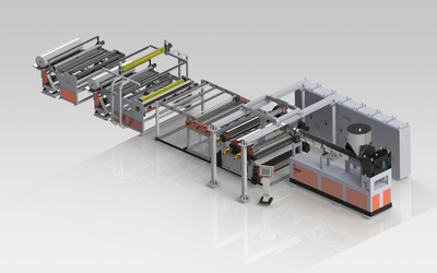EVA太阳能胶膜生产线