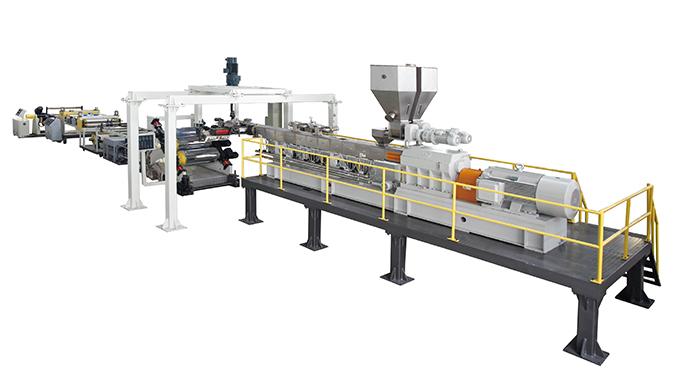 双螺杆免干燥排气型PET片材生产线